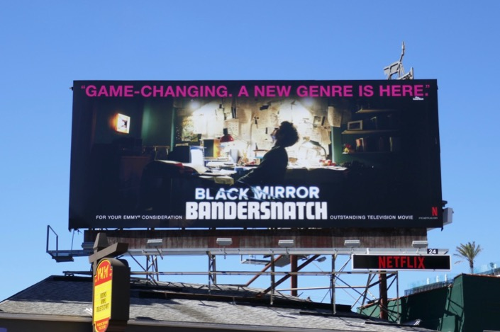Black Mirror Bandersnatch Emmy billboard