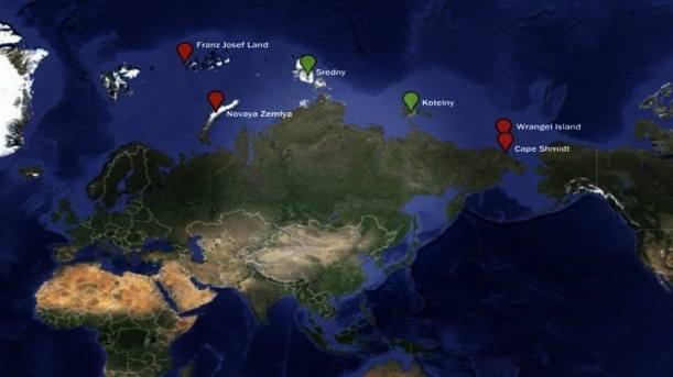 Lokasi 6 titik pangkalan Militer Rusia terbaru