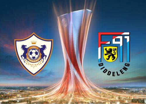 Qarabag vs F91 Dudelange -Highlights 12 December 2019