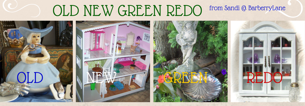Somethings Old, New, Green, Redo!