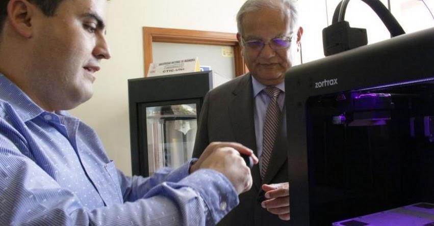 UNI: imprimirán en 3D prótesis para personas con discapacidad física en la Universidad Nacional de Ingeniería - www.uni.edu.pe