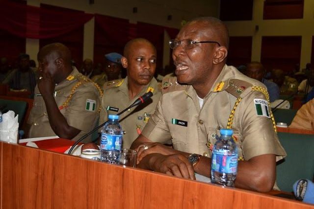 Commandant General, Peace Corps of Nigeria has been arrested by Police operatives in Abuja.