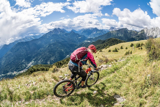Singletrail Monte Crostis Paluzza Udine MTB Mountainbike