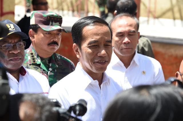 Panglima TNI Dampingi Presiden RI di Wamena Papua