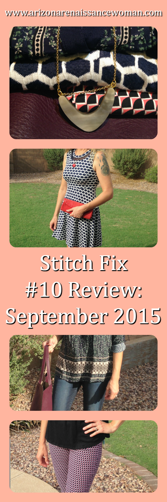 Stitch Fix #10 Review September 2015 Collage