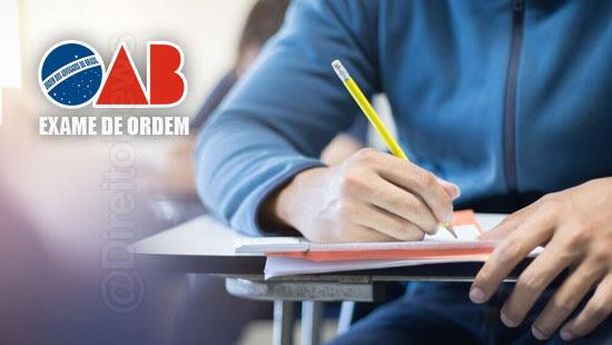 quantas vezes posso fazer exame oab
