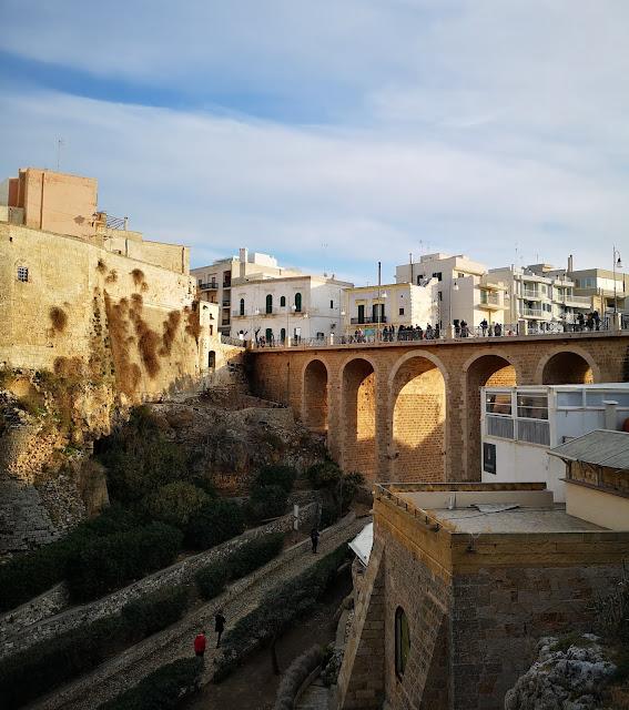 Polignano a Mare: il ponte borbonico di inizio Settecento