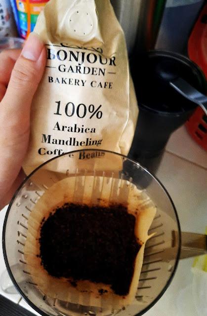 Bonjour Garden Bakery Cafe 100% Arabica Mandheling Coffee Beans
