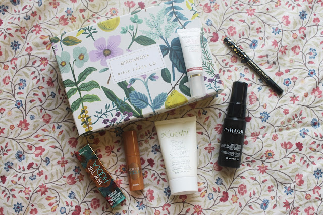 April Birchbox 2016