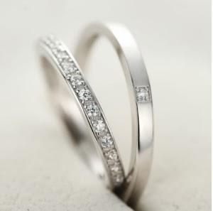 Cincin Kawin Couple, Perak, Palladium, Tunangan, Nikah CINCIN NIKAH ARAB