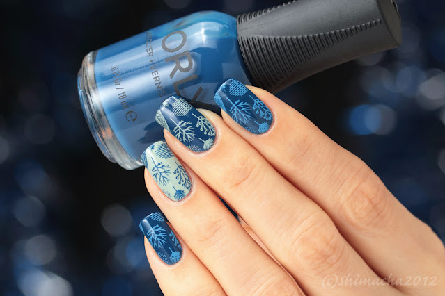Forest nails MoYou London : Fall In Love Collection-10
