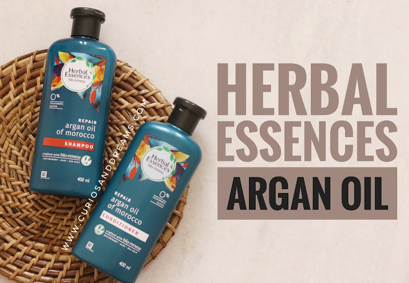Herbal Essences Argan Oil Shampoo review, Herbal Essences Argan Oil conditioner review, Herbal Essences review, Herbal Essences india, Herbal Essences Argan Oil