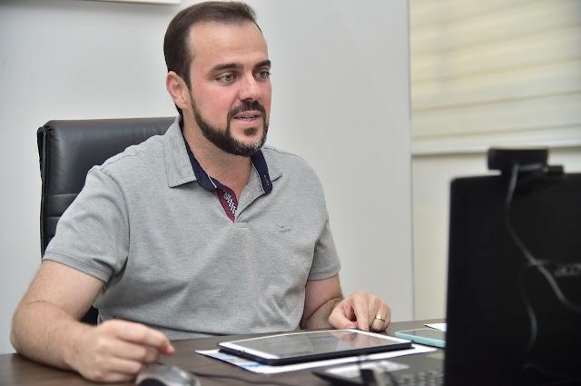 Gustavo Mendanha destaca utilização de tecnologia no combate à Covid-19 em Aparecida