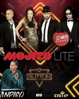 Poster concierto de MOJITO LITE y JUANK INDIGO en Bogotá