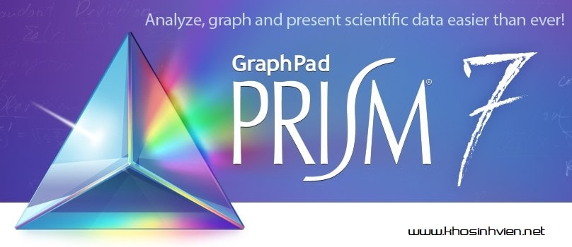 Tải GraphPad Prism 7 Full Versicon cho Windows/Ma