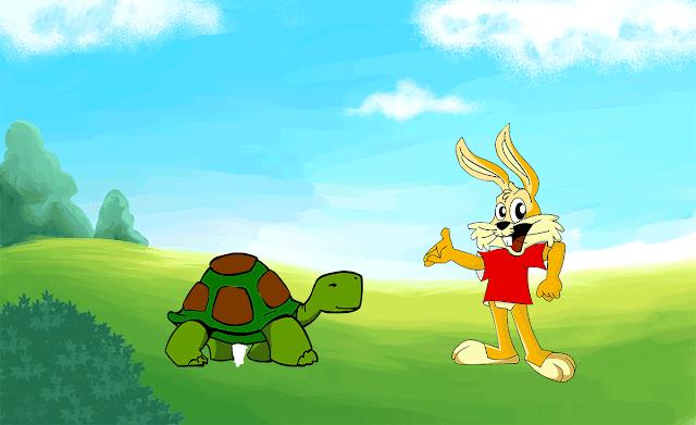 La liebre y la tortuga Fabula