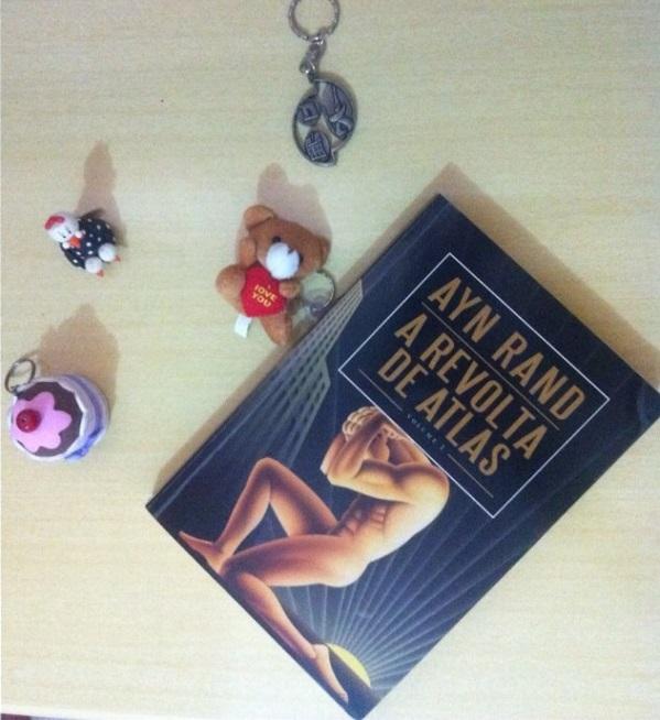 7 pecados capitais literários - A Revolta de Atlas - vol 1 - Ayn Rand - Tamaravilhosamente