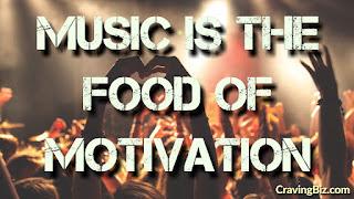 Cravingbiz quote on music