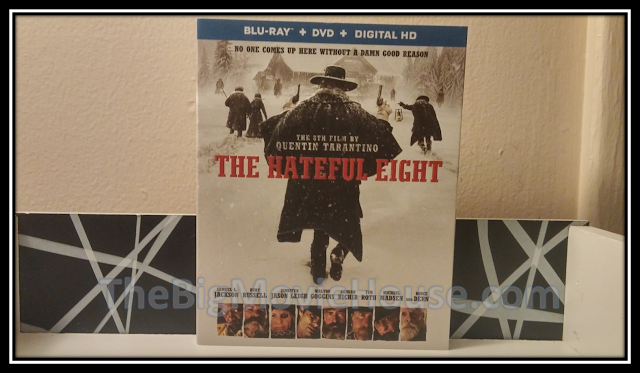 The Hateful Eight Blu-ray slip cover from Anchor Bay