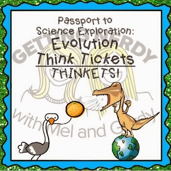 http://www.teacherspayteachers.com/Product/Evolution-Task-Cards-Think-Tickets-for-Science-Exploration-694533