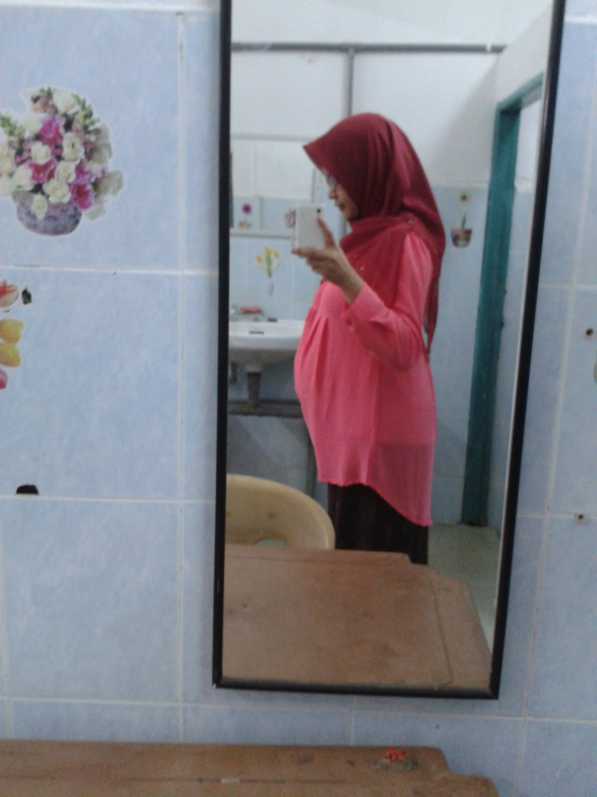 Nurul Ngerepak Of Maternity Dress Hey Baby Hailey Daily Pink Perempuan Real Or Blouses Are Expensive Usually I Opted For Plus Size Just Wore My Moms Blousesmuehehe But Need Something That Can