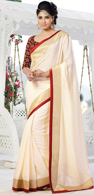 Latest Art Silk Saree Dresses