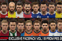 Exclusive Facepack Vol. 18 - PES 2019