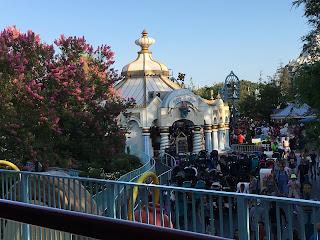 Fantasyland from the Disneyland Railroad