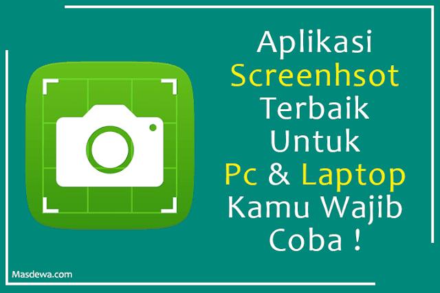 aplikasi screenshot di pc terbaik