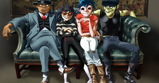 Gorillaz in Montevideo for the first time