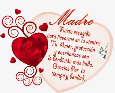 Imagenes de Corazones Con Frases Para El Dia De La Madre
