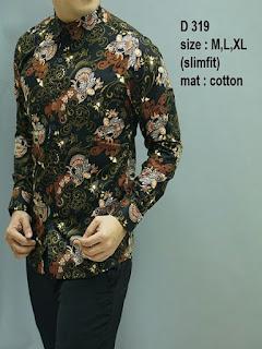 baju batik pria berkualitas