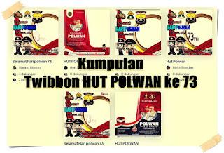 twibbon hut polwan 73 - kanalmu