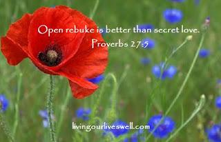 Proverbs 27:5