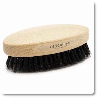 Fendrihan Boar Bristle & Beech Wood Military Hair Brush medium soft