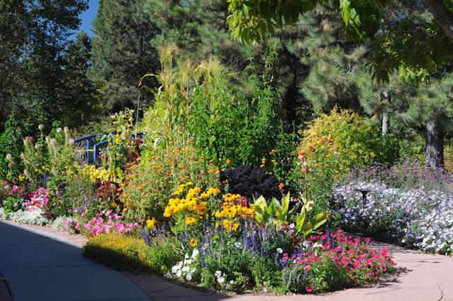 Cheyenne Botanic Gardens outdoor gardens