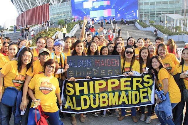 AlDub Nation at the Philippine Arena