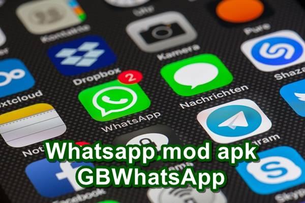 Whatsapp mod apk GBWhatsApp