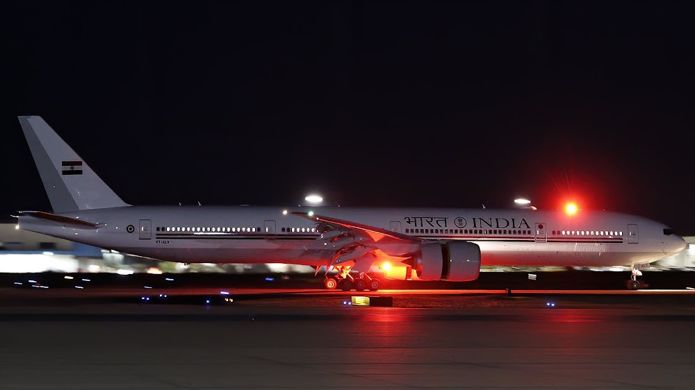Indian Secure VIP Transport Aircraft - Air India One - Boeing-777-300ER - 01