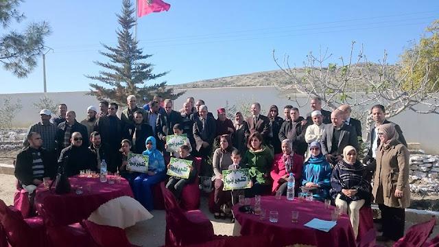 تاونات: مجموعة مدارس أولاد العسري تنظم نشاطا بيئيا بحضور السيد المدير الإقليمي