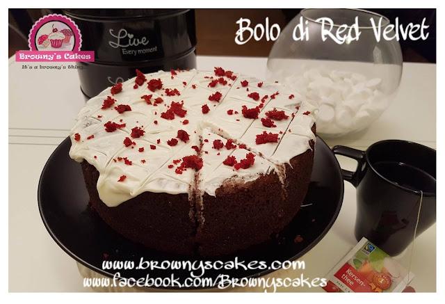 Bolo di Red Velvet - Red Velvet taart