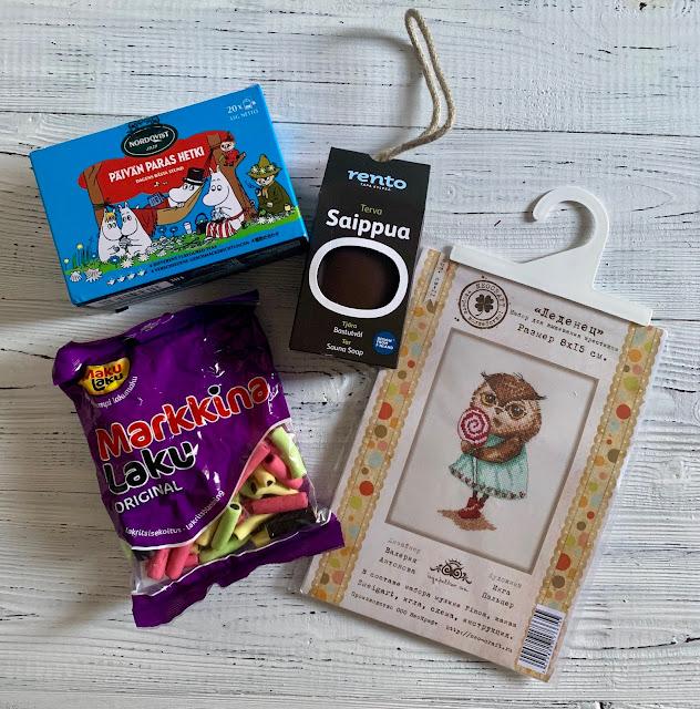 Финская конфетка от Алены