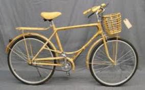 cara bikin sepeda mini antik dari bambu
