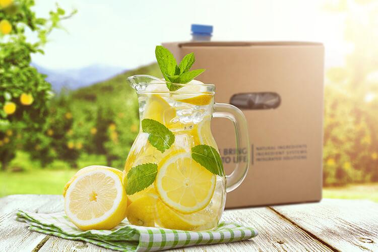 Receita de limão e erva cidreira