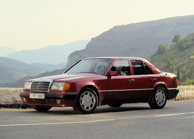 1990 - Mercedes-Benz 500 E, the high-performance 124 model series saloon