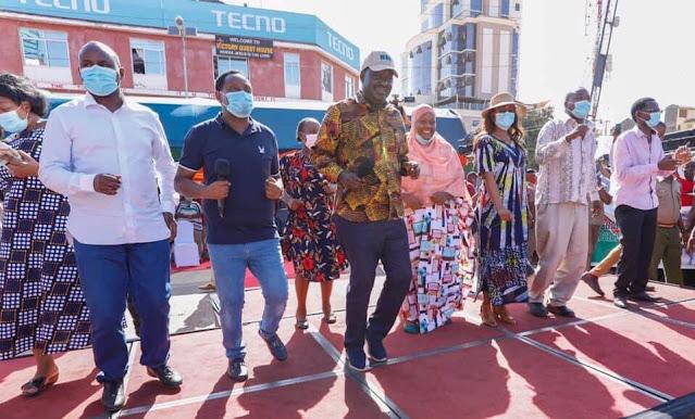 ODM leader Raila Odinga at Taita Taveta photo