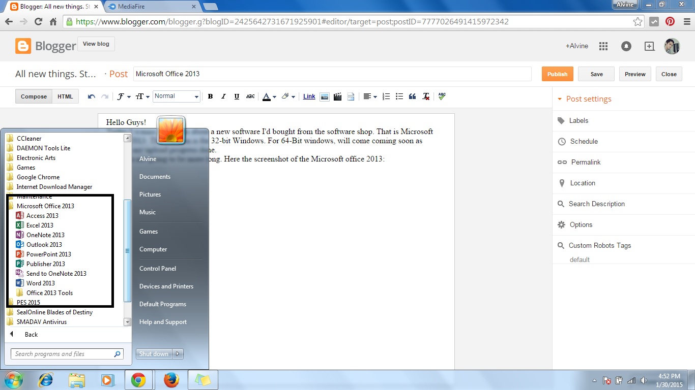 ms office 2013 free download for windows 64 bit