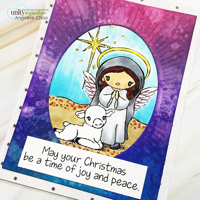 ScrappyScrappy: A time of peace #scrappyscrappy #unitystampco #brownthursday #card #cardmaking #youtube #quicktipvideo #stamp #stamping #papercraft #timholtz #distressoxide #averyelle #ovalburstdie #christmas #christmascard #vivadecor #tierrajackson