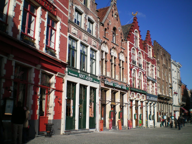 Grote Mark, plaza central de Brujas