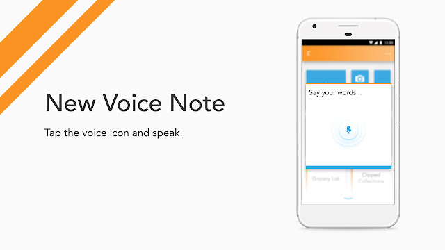 Android app UI and UX : bud New Voice Note